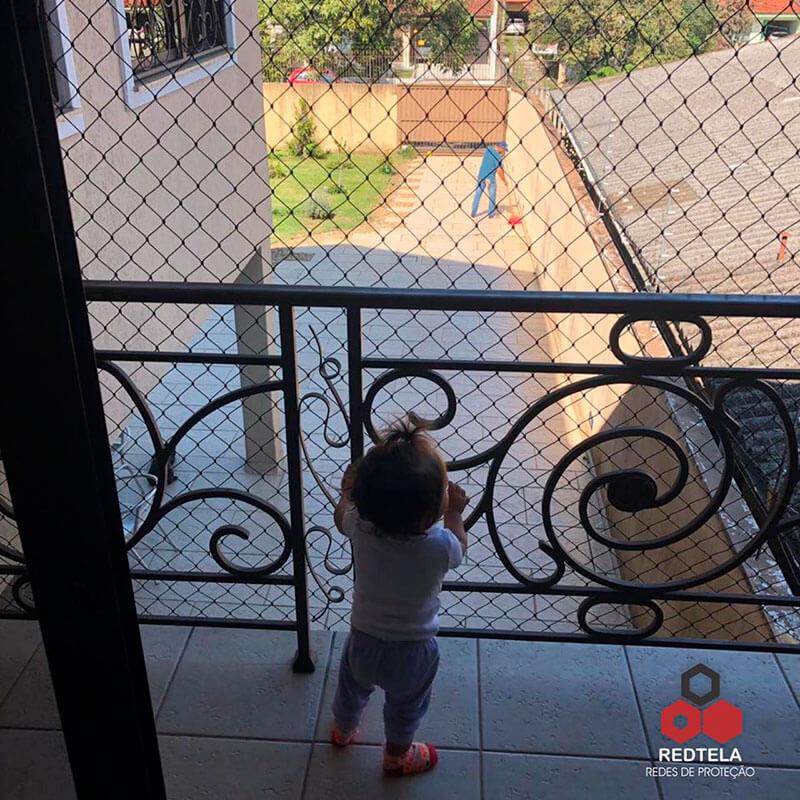 redes de proteção para crianças